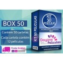 KIT 50 CARTELAS