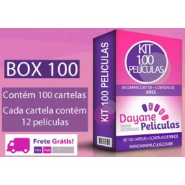 KIT 100 CARTELAS